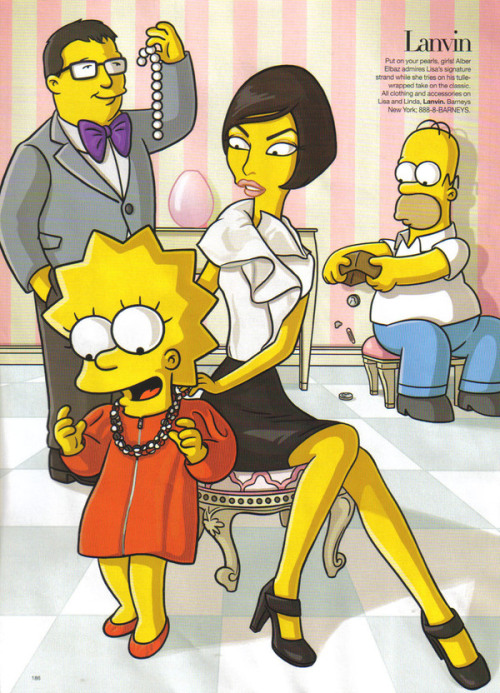 Simpsons Couture Lanvin !G