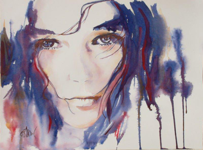 Watercolors by French artist Oliver Bartoli