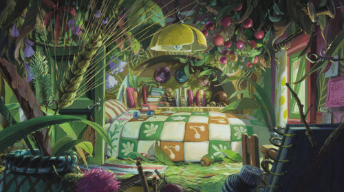 Arrietty's room.Really this is fantastic! I wish my room looked like this. New dream home?