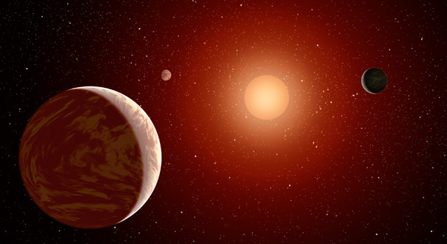 Planets may not have to orbit really close around red dwarf stars to be suitable for life.  (via Extending the habitable zone for red dwarf stars)