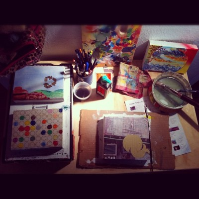 Works in progress (Taken with instagram)  zada