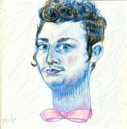 Self portrait with Bowtie, 2011