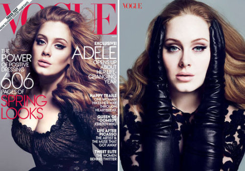 Adele ~ Vogue March 2012