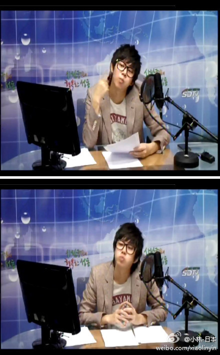heechulfacts:        [120224] Bubbly HeeDJ at Sungdong cafe Part 3 2P  cr: xiaolinyin