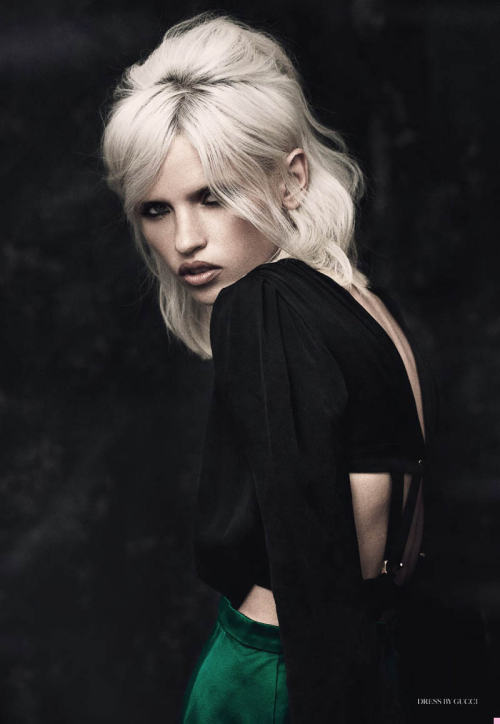 """Anja"" (+) for Fashion Gone Rogue photographer: Matthew Webb Anja Konstantinova"