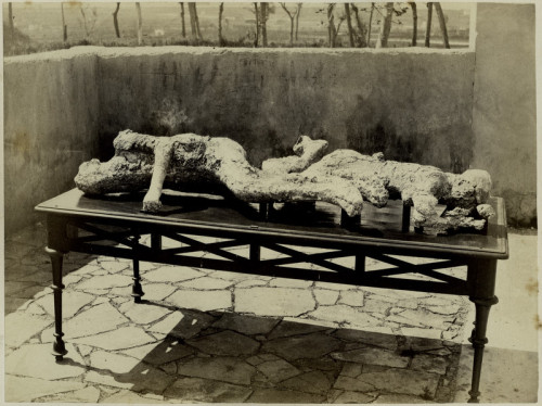 Giorgio Sommer, Casts of Bodies Found in Pompeii, 1863
