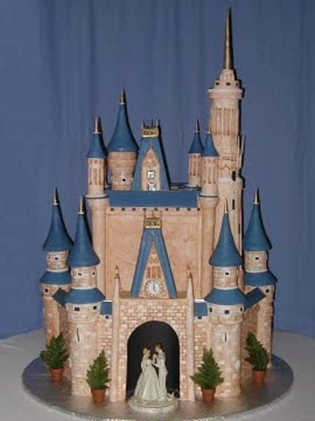 Disney Castle Cake Images : Pin Cinderellas Castle Cake Topper Or By ...
