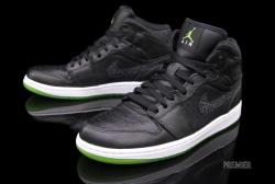 Jordan Air Jordan 1 Phat in black