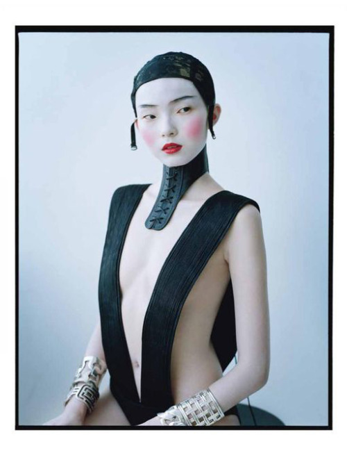suicideblonde:  Xiao Wen Ju photographed by Tim Walker for W Magazine, March 2012