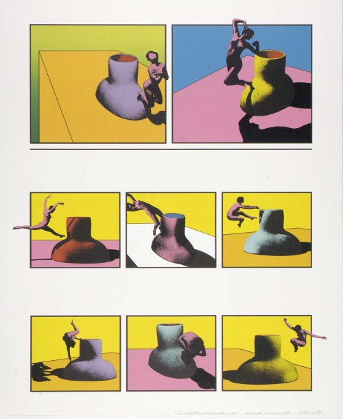 "Ken Price ""Acrobatic Figurine Cups"" 1970"