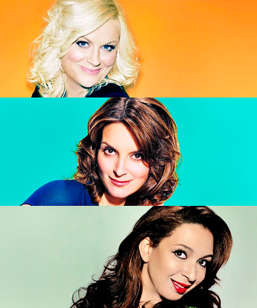 Watching fierce, smart, and funny women makes my soul happy. #snl #tinafey #amypoehler #mayarudolph