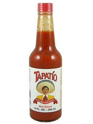My current favorite hot sauce be Tapatio! What's your favorite hot sauce?