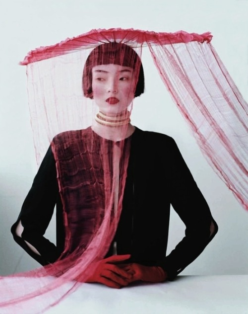 moldavia:  Xiao Wen Ju in W March 2012 by Tim Walker