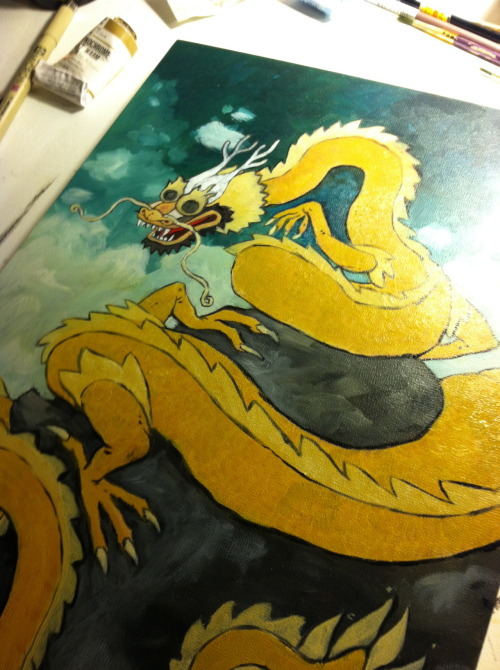 Finally getting back to work on the Dragon addition to the Constellation Fauna series. Been struggling on where to take this piece, but after setting it aside for a while ( and I mean a while) I think I finally got the wind back in my sails. Should hopefully have it finished within the next week. Wish me luck!