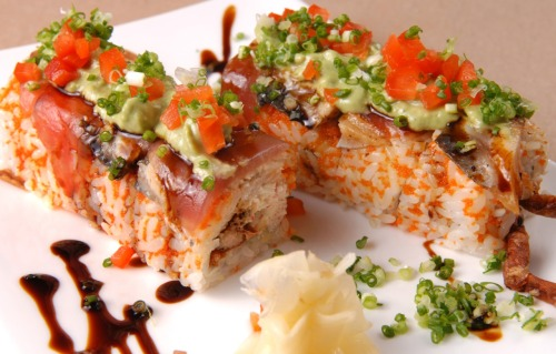 My brain just imploded. SushiLoversForever:  Dynamite Roll