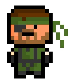 Naked Snake, the snake - eating, frog - catching, base - stealthing and nuclear weapon - destroying predecessor to Solid Snake and protagonist of Metal Gear Solid 3.  It might not be the most recent entry, but I personally think that it is the best one of the series. I mean, what other games are there that allow you to give your enemies indigestion before you mercilessly attack them with poisonous snakes ?