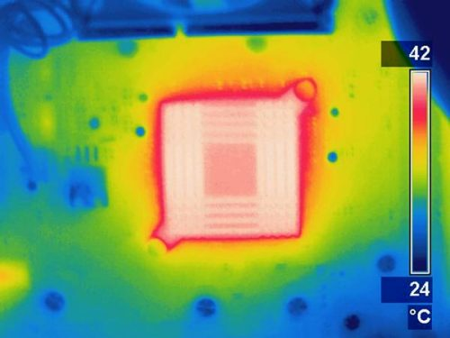 "Invisibility cloaking goes thermodynamic Researchers in France have shown how to isolate or ""cloak"" objects  from sources of heat – a breakthrough that could help cool down  electronic devices and thereby pave the way towards more powerful  computers. They also show how the same technique could be used to  concentrate heat, which might prove useful in advanced solar  technologies. Invisibility cloaks are based on the mathematics of transformation  optics – bending light such that it propagates round a space, rather  than through it – and were proposed by John Pendry of Imperial College  in London and Ulf Leonhardt of the University of St Andrews in 2006.  Now, Sebastien Guenneau of the University of Aix-Marseille and  colleagues at the French national research council (CNRS) wondered  whether a similar thing could be done with heat. While intuitively, it  might seem unlikely that the same mathematics could be applied to  thermal diffusion, given that heat does not propagate as a wave but  simply diffuses; the researchers found that the transformed equation  worked."