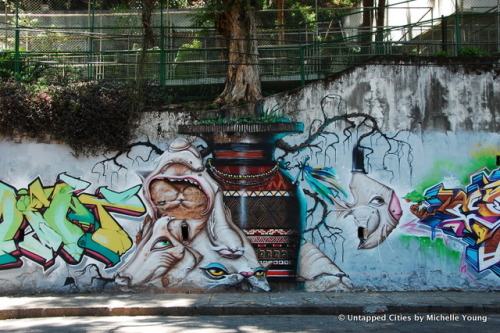 The Legalization of Street Art in Rio de Janeiro, Brazil  An extremely colorful article, and I mean that literally.