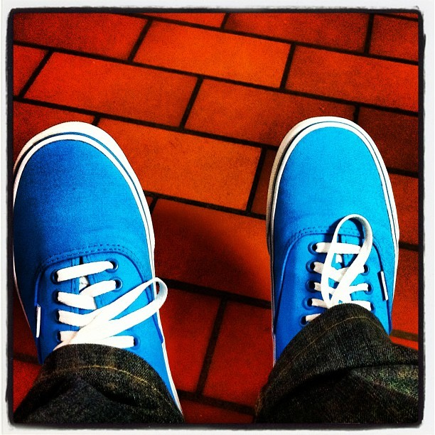 Fresh kicks. #vans #freshkicks (Taken with instagram)