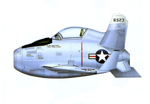1948 … XF-85 McDonnell 'Goblin' (by x-ray delta one)