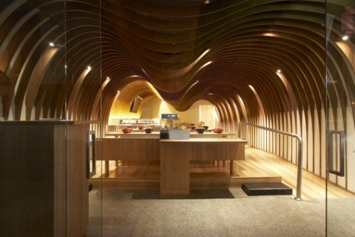 The Cave Resturant by Koichi Takada Architects