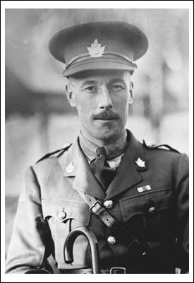 becomingcanada:  February 26, 1883 - George Pearkes, VC,  is born in Watford, England. Awarded the Victoria Cross for service at Passchendaele, he was later Minister of National Defence in the Diefenbaker government and Lieutenant-Governor of British Columbia.