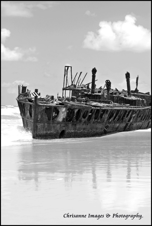 Maheno shipwreck. Fraser Island. Please feel free to like my facebook page: Chrisanne images & photography.
