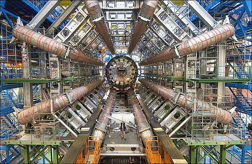 "8bitfuture:  'Faster than light' neutrinos may have been a technical glitch. Last year scientists at CERN made news claiming to have found neutrinos travelling at superluminal speeds, arriving 60 nanoseconds earlier than expected when sent between two laboratories. Now a source close to the experiment has claimed that the result was because of faulty wiring.  The report in Science Insider said the ""60 nanoseconds discrepancy appears to come from a bad connection between a fiber optic cable that connects to the GPS receiver used to correct the timing of the neutrinos' flight and an electronic card in a computer. "" ""After tightening the connection and then measuring the time it takes data to travel the length of the fiber, researchers found that the data arrive 60 nanoseconds earlier than assumed,"" it added. ""Since this time is subtracted from the overall time of flight, it appears to explain the early arrival of the neutrinos. New data, however, will be needed to confirm this hypothesis."""