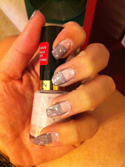 "Rapunzel inspired nails. ORLY ""Who's Who Pink""Revlon ""Mischevious""Revlon ""Popular"""