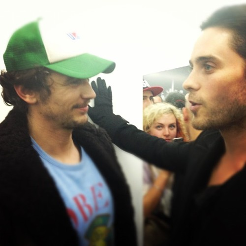 """Jared with James Franco"" - by Dylan"