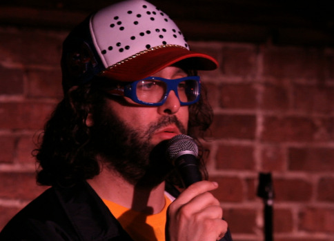 Here's a pic of me at The Comedy Cellar in NYC doing stand-up last week. Today - Saturday 2/25 at 6pm I will be doing stand-up on the kick-off show at NACA in Charlotte, North Carolina. Then hanging out all night at the APA Booth 407-409 in the convention hall. We'll take photos. Break records. You'll learn karate. And we'll solve crimes.