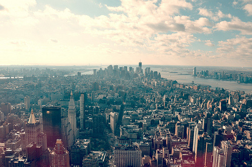 downthewaterfalls:  New York view.