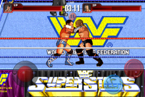 I have successfully ported the WWF Superstars arena from the original WrestleFest into the iOS remake. Boo-Yah