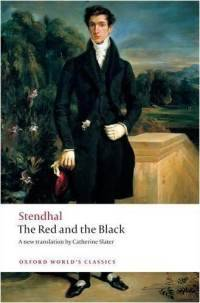 Last week I finished Stendhal's The Red and the Black. I liked it a lot, but I am not entirely sure what to make of it. It is, of course, ironic but not, perhaps, in the way we always expect. The target of much of Stendhal's satire is, of course, upper class French society in the 1830', yet at the same time me thinks he pokes gently at cross currents of Romanticism as well. Let's be perfectly clear: Julian Sorel is a deeply compromised individual, morally dubious at best. He is hard to latch onto, so to speak. While anyone who has felt out of place will identify with some of his behavior, the end to which it is directed seems petty and hollow. Perhaps this is Stendhal's point. Perhaps, in the end, the entire societies behavior collapses into Julian's botched murder attempt and his sucidal defense at his own trial. Perhaps Stendhal uses Sorel to expose the sucidal impulse of the very society that both condems Julian's birth and affirms his behavior. The challenge they face is not of a commoner evidencing more nobility but of the realization of the complete ludicy of nobility as a construct at all. Anyhow, was a good read, glad I read it, and would recommend to others. I wish I could read it in French.