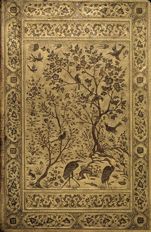 yama-bato:  Safavid art Leather Binding-1500/1550 http://www.dia.org/object-info/a01cd63f-ea41-45f6-b721-299664b388a3.aspx