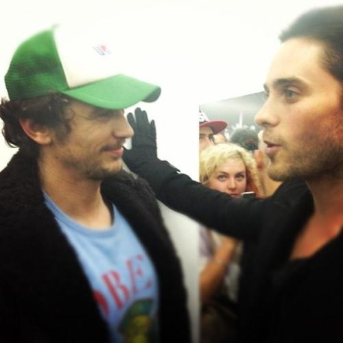 Jared Leto and James Franco in TERRYWOOD  <3