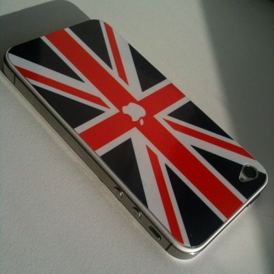 New iSkin #iphone #skin #apple #flag #uk (Taken with instagram)