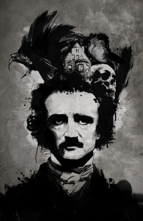Poe had a lot on his mind.