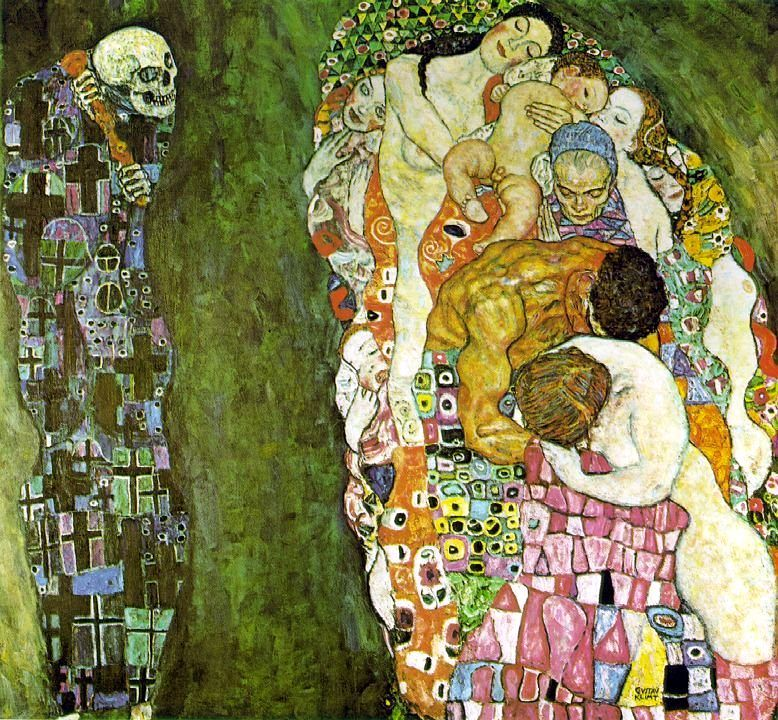 Gustav Klimt, Death and Life, 1916.