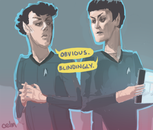 oelm:  I was so sure Cumberbum was going to be a Vulcan, so I started drawing this before the set photos came out!  No matter…I drew another one in accordance with the new photos: