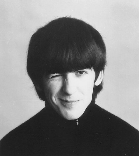 hellogiggles:  HAPPY BIRTHDAY, GEORGE HARRISON! by Julia Gazdag