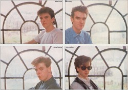 thischarmlessgirl:  Baby Smiths. :')   That time in 1984 when The Smiths made the jump to lightspeed.