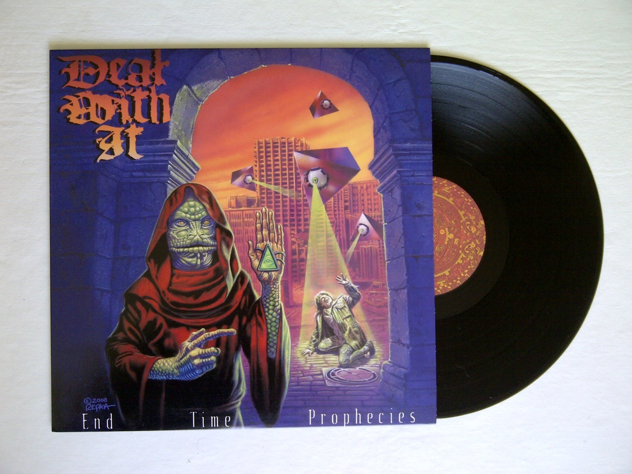 "DEAL WITH IT - End Time Prophecies 12""Dead And Gone Records 10€ botedge@gmail.com"
