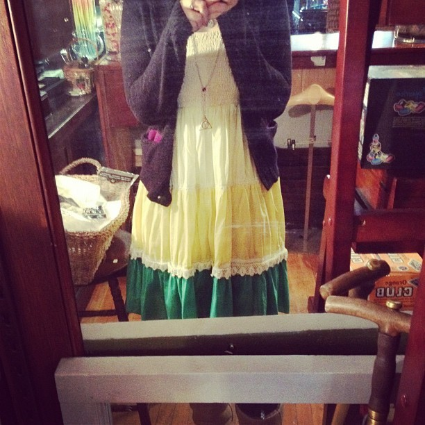 Day fourteen. #februdressy #obamadress (Taken with instagram)