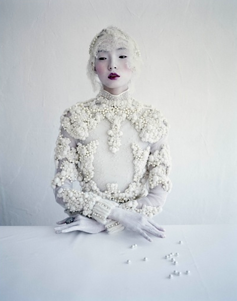 Xiao Wen Ju photographed by Tim Walker, unpublished
