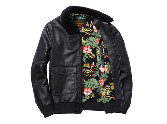 Supreme x Schott NYC Leather Jacket src