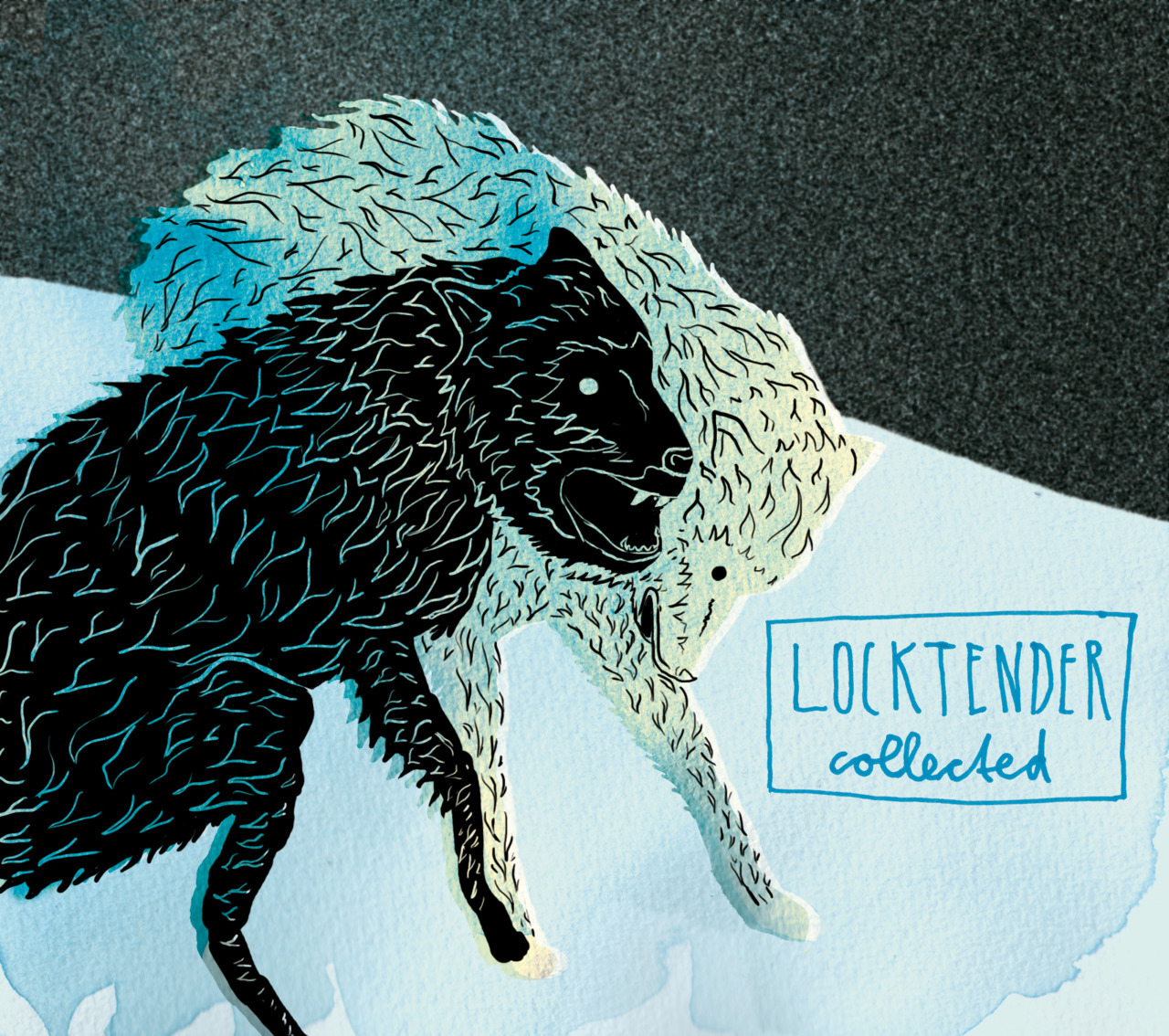 Cover for the forthcoming CD of the band Locktender from Cleveland, OH. locktender.bandcamp.com