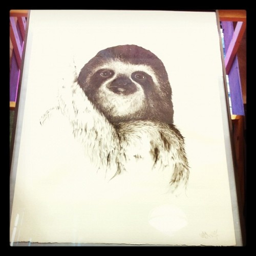 fraintesa:  #Sloth at #UrbanOutfitters, #London (Taken with instagram)