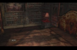Am I the only one who noticed Scarlet's shadow on her bed? DAMN SILENT HILL, YOU SCARYedit: oh and the portrait too