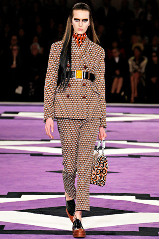 Prada AW12 Photo: Style.com